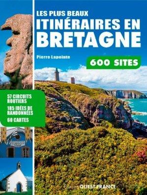 Les plus beaux itinéraires en Bretagne - ouest-france - 9782737371929 -