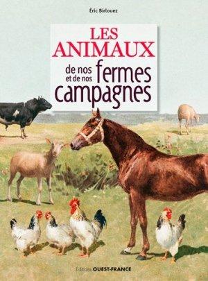 Les animaux de nos fermes et de nos campagnes - ouest-france - 9782737381911 -