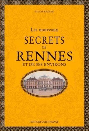 Les nouveaux secrets de rennes - Ouest-France - 9782737382079 -