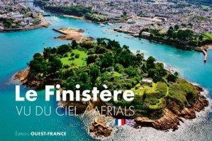 Le Finistère vu du ciel. Edition bilingue français-anglais - Ouest-France - 9782737382765 -