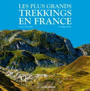 Les plus grands trekkings en france - Ouest-France - 9782737385148 -