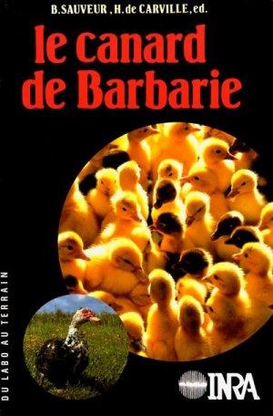 Le canard de Barbarie - inra  - 9782738002341 -