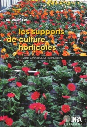 Les supports de culture horticoles - inra  - 9782738009074