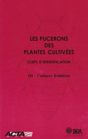 Les pucerons des plantes cultivées - acta / inra - 9782738009401 -