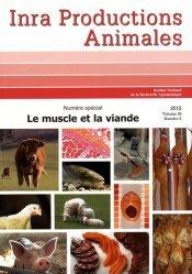 Le muscle et la viande - inra  - 9782738013767
