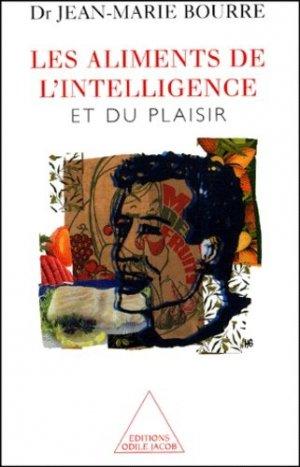 Les aliments de l'intelligence et du plaisir. - odile jacob - 9782738109705 -