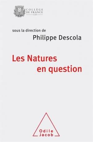 Les Natures en question - odile jacob - 9782738145581 -