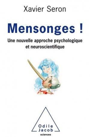 Le Mensonge - odile jacob - 9782738147585 -