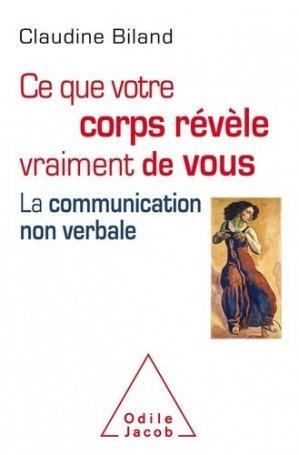 Le Langage du corps - odile jacob - 9782738151803 -