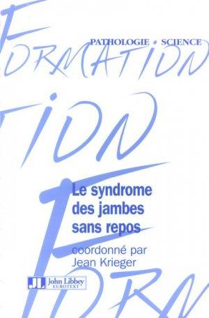Le syndrome des jambes sans repos - john libbey eurotext - 9782742006021 -