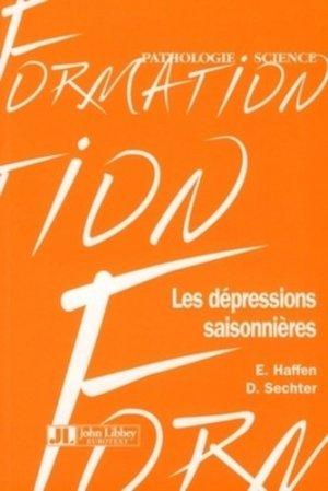 Les dépressions saisonnières - john libbey eurotext - 9782742006038 -