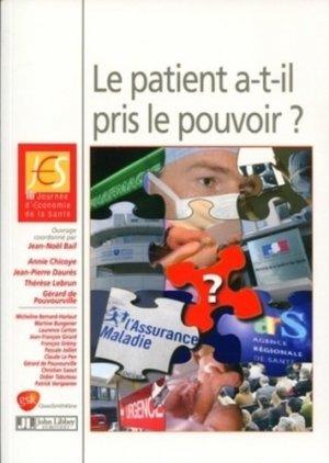 Le patient a-t-il pris le pouvoir ? - john libbey eurotext - 9782742007554 -