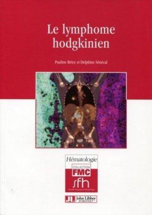 Le lymphome hodgkinien - john libbey eurotext - 9782742008384 -