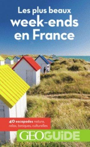Les plus beaux week-ends en France - Guides Gallimard - 9782742450657 -