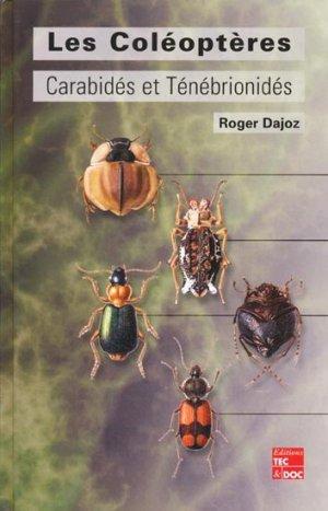 Les coléoptères Carabidés et Ténébionidés - lavoisier / tec et doc - 9782743005399 -
