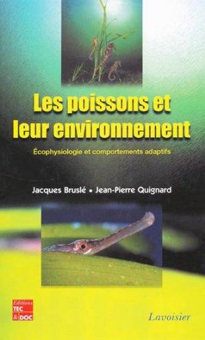 Les poissons et leur environnement - lavoisier / tec et doc - 9782743006792 -