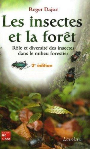 Les insectes et la forêt - lavoisier / tec et doc - 9782743009823 -