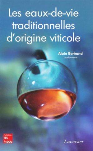 Les eaux-de-vie traditionnelles d'origine viticole - lavoisier / tec et doc - 9782743010409 -