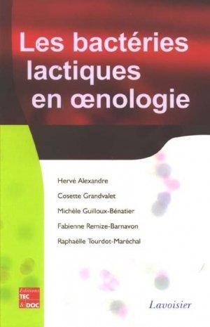 Les bactéries lactiques en oenologie - lavoisier / tec et doc - 9782743010416 -