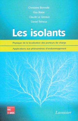 Les isolants - lavoisier / tec et doc - 9782743012298 -