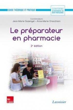 Le préparateur en pharmacie - lavoisier / tec et doc - 9782743013714 -