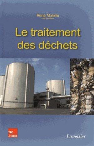 Le traitement des déchets - lavoisier / tec et doc - 9782743015626 -