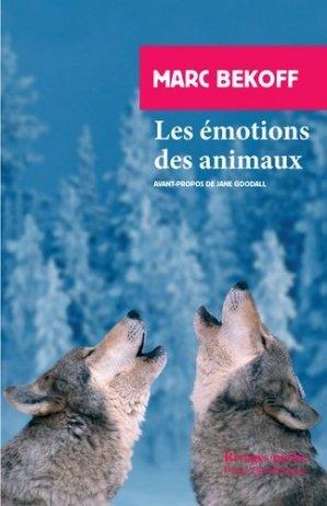 Les Émotions des animaux - rivages poche - 9782743642464 -