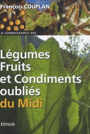 Légumes, fruits et condiments oubliés du Midi - Edisud - 9782744906893 -