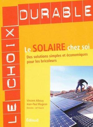 Le solaire chez soi - edisud - 9782744908385 -