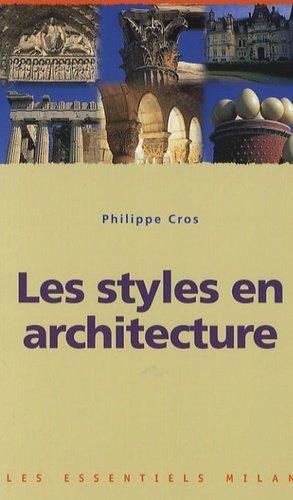 Les styles en architecture - milan - 9782745917874 -