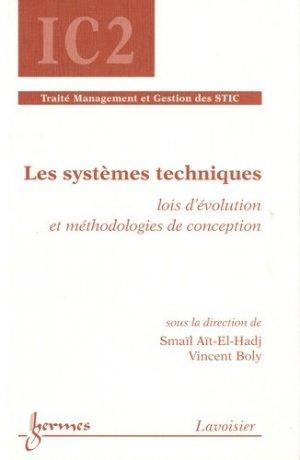 Les systèmes techniques - Hermes Science Publications - 9782746222342 -