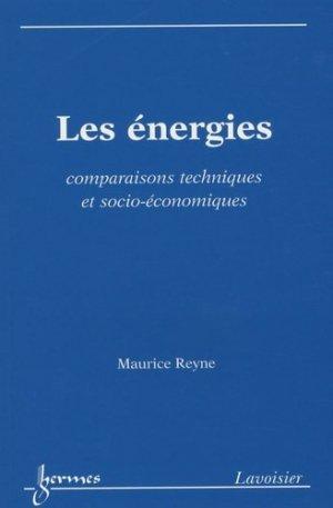 Les énergies - Hermes Science Publications - 9782746223318 -