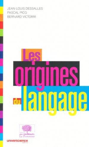 Les origines du langage - le pommier - 9782746504998