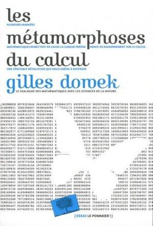 Les metamorphoses du calcul - Le Pommier - 9782746509108 -