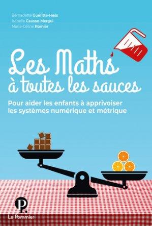 Les Maths à toutes les sauces - le pommier - 9782746518698