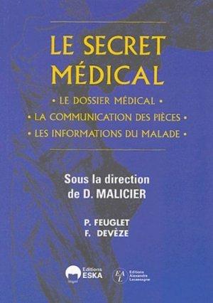 Le secret médical - eska - 9782747206181 -