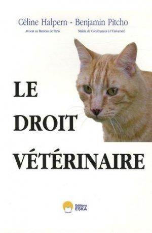 Le droit vétérinaire - eska - 9782747207836 -