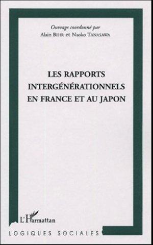 Les rapports intergénérationnels en France et au Japon - l'harmattan - 9782747574396 -