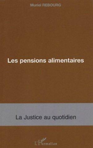 Les pensions alimentaires - l'harmattan - 9782747574624 -