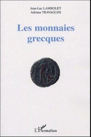 Les monnaies grecques - l'harmattan - 9782747579155 -