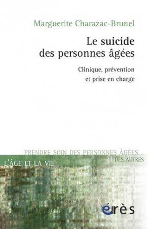 Le Suicide des personnes âgées - eres - 9782749240251 -