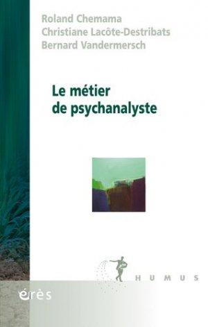 Le métier de psychanalyste - eres - 9782749249728 -