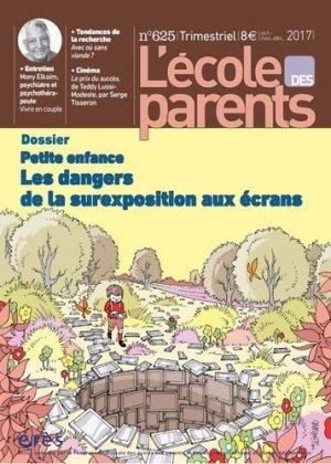 Lécole des parents petite enfance - eres - 9782749256801 -