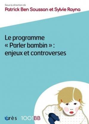 Le programme parler bambin - eres - 9782749261683 -