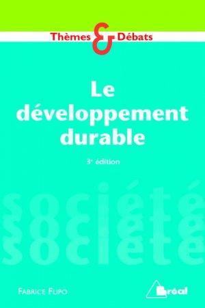 Le développement durable - breal - 9782749532738 -