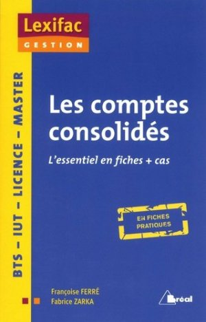 Les comptes consolidés - Bréal - 9782749535739 -