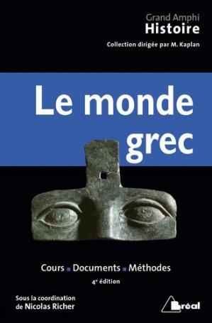 Le monde grec - bréal - 9782749539041 -