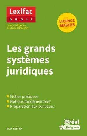 Les grands systèmes juridiques - Bréal - 9782749550374 -