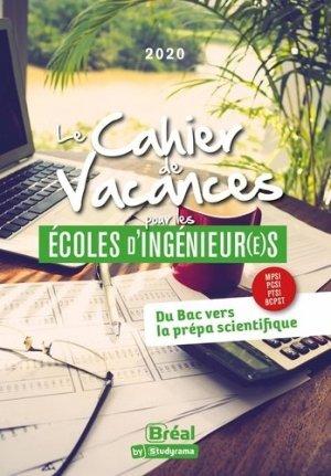Le cahier de vacances pour les écoles d'ingénieur(e)s - Bréal - 9782749550497 -