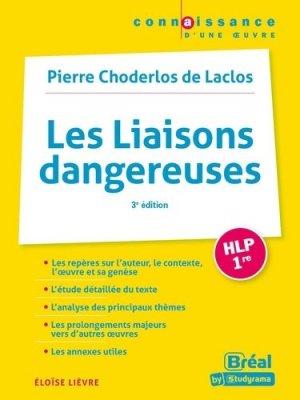 Les liaisons dangeureuses HLP 1re - Bréal - 9782749550657 -